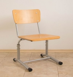 Student chair with height adjustment 1 -8 grade